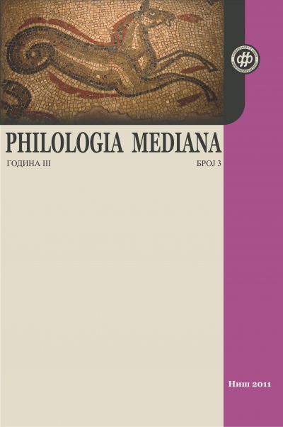 Philologia Mediana 3 (2011)