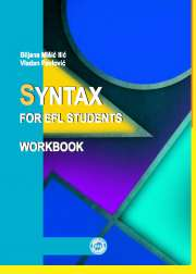 SYNTAX FOR EFL STUDENTS (WORKBOOK)